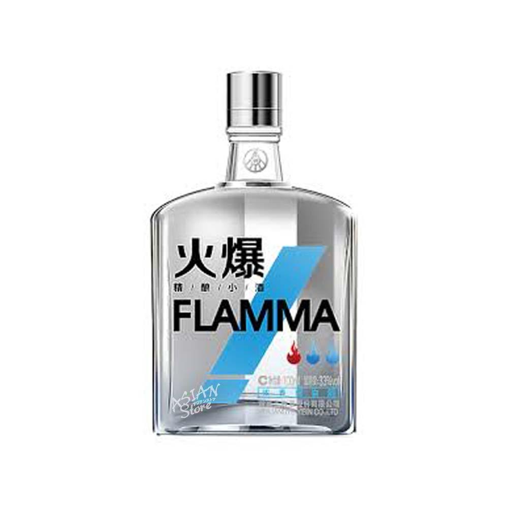 【常温便】【白酒】フォバオスピリッツ/FLAMMA火爆精醸小酒(濃香型)33度100ml(青)