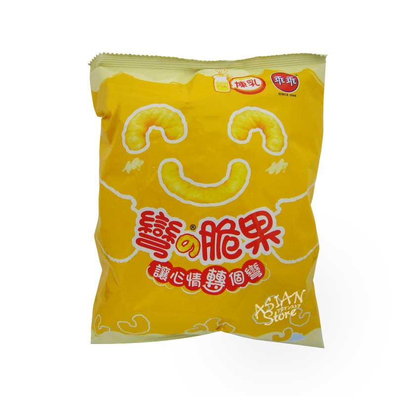 【常温便】台湾スナック菓子 コーンスナック(練乳味)/乖乖練乳味52g