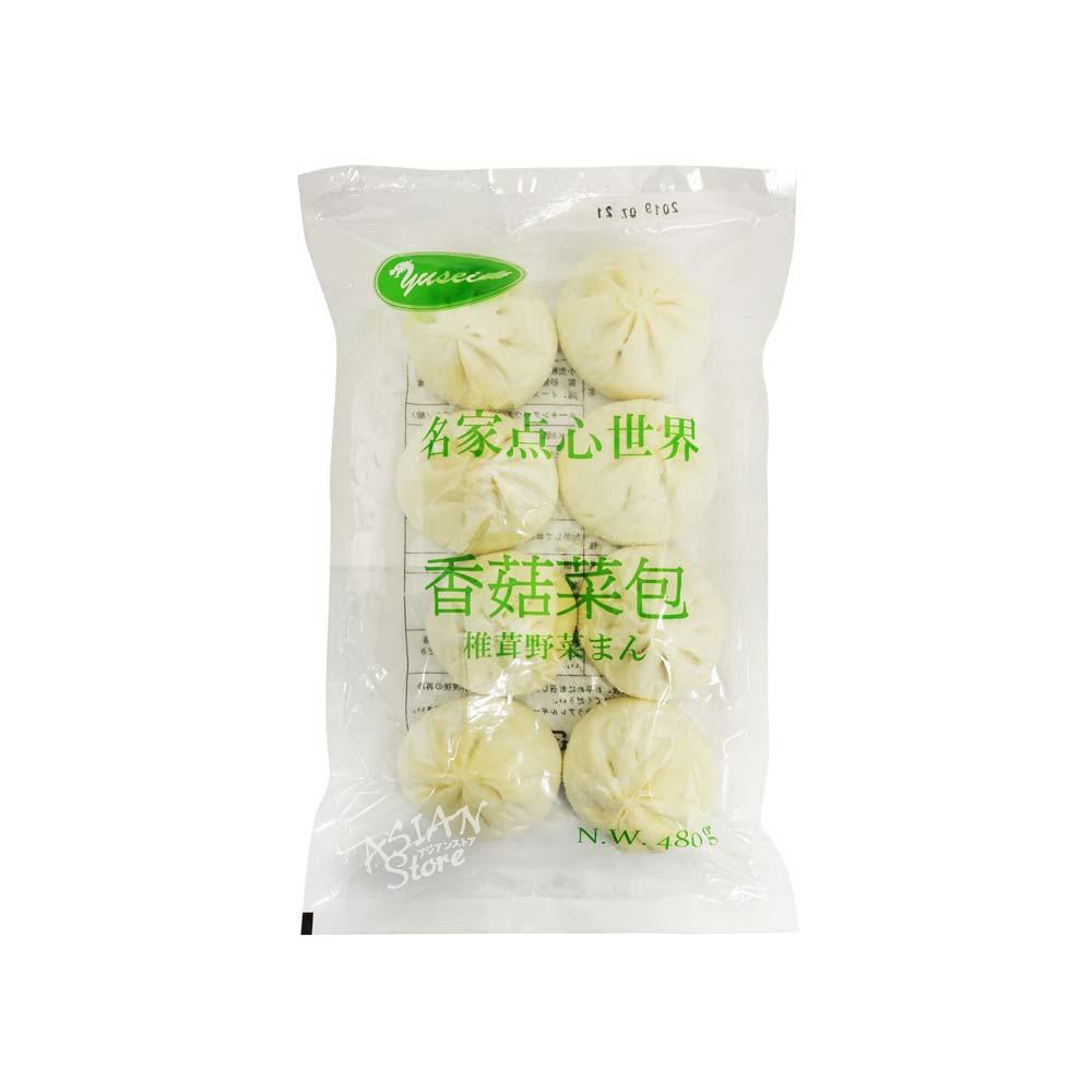 【冷凍便】名家点心椎茸野菜まん/名家点心香菰菜包480g(60g×8個)