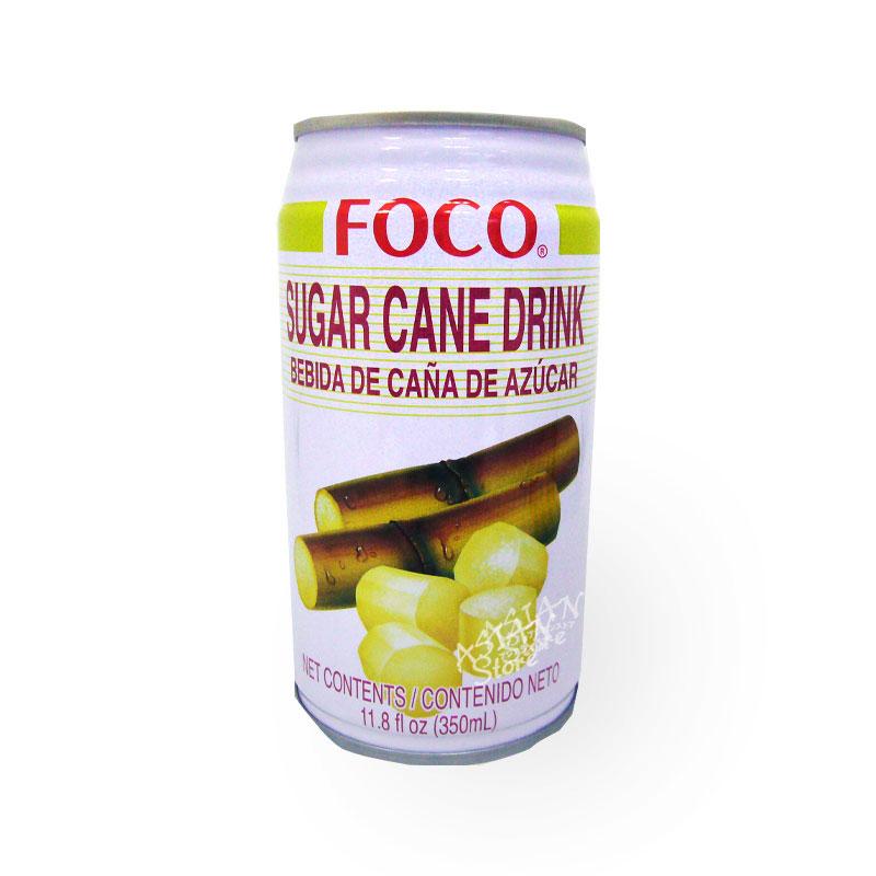 【常温便】フォコサトウキビジュース/FOCO泰国甘蔗汁350ml