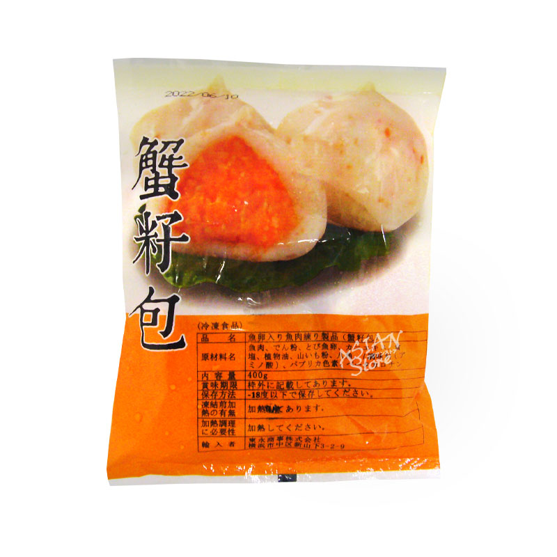 【冷凍便】魚卵入り魚肉団子/TOEI蟹仔包400g