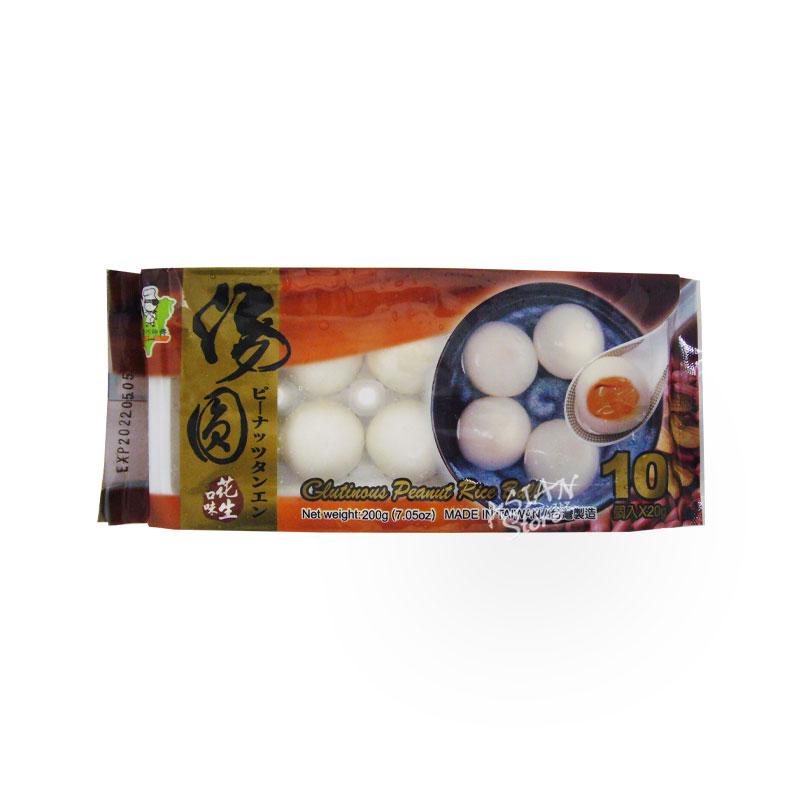 【冷凍便】ピーナッツタンエン/台湾巧師父大粒花生湯園10個入り