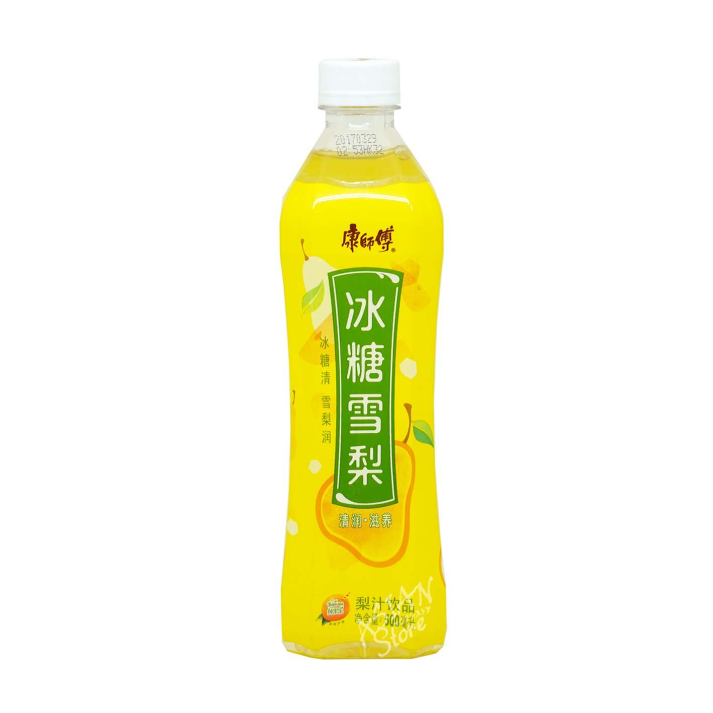 【常温便】カンシーフー梨ジュース/康師傅冰糖雪梨500ml