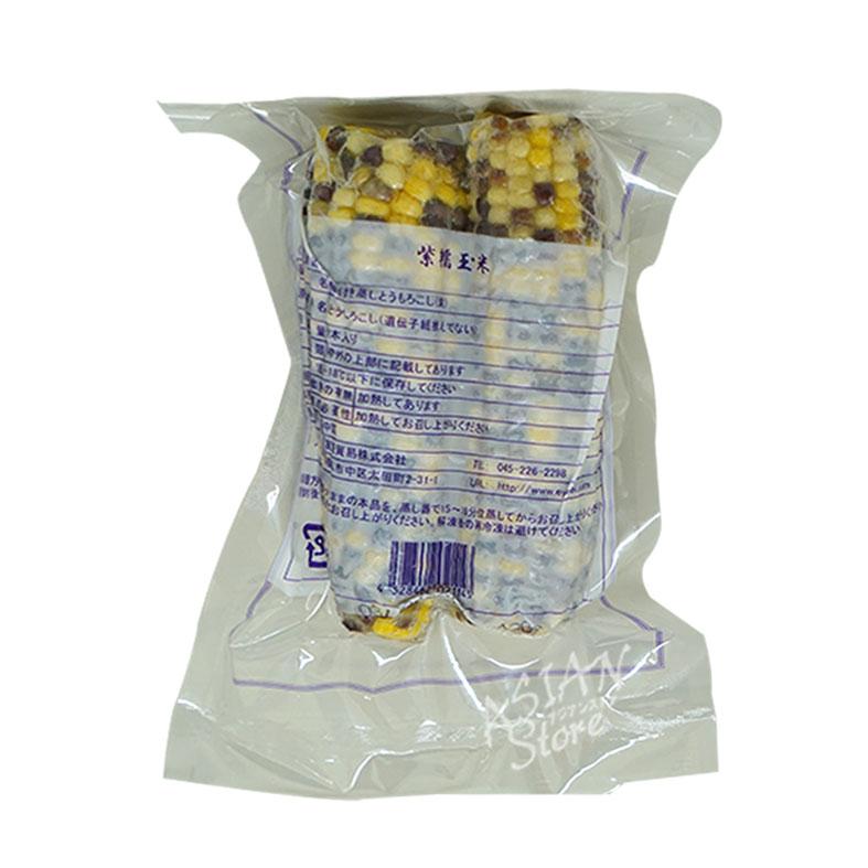 【冷凍便】冷凍とうもろこし/紫糯玉米(2根入)