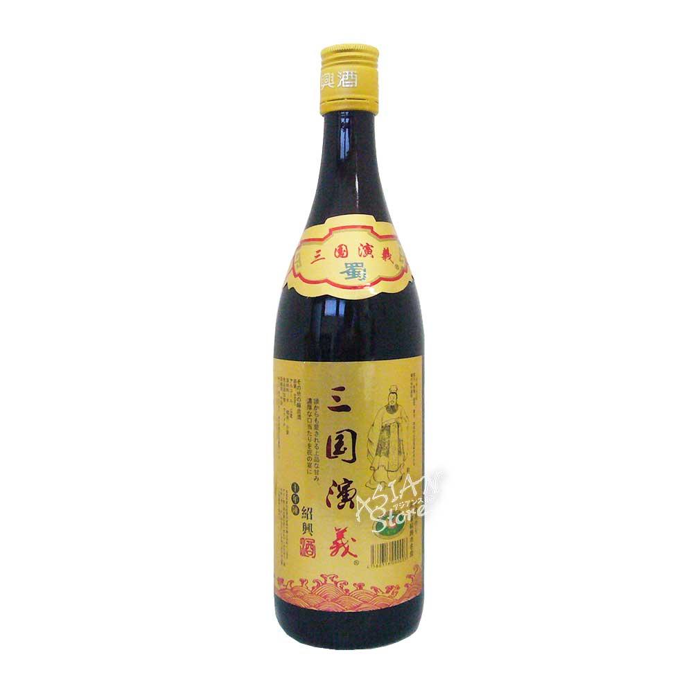 【常温便】【紹興酒】三国演義列伝(劉備) 10年陳640ml/15度