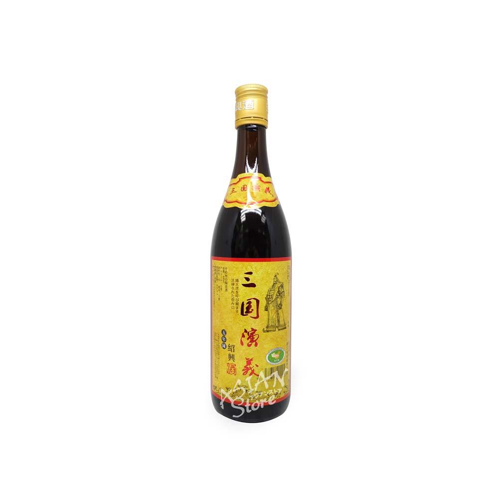 【常温便】【紹興酒】三国演義列伝(孫権) 5年陳640ml/15度