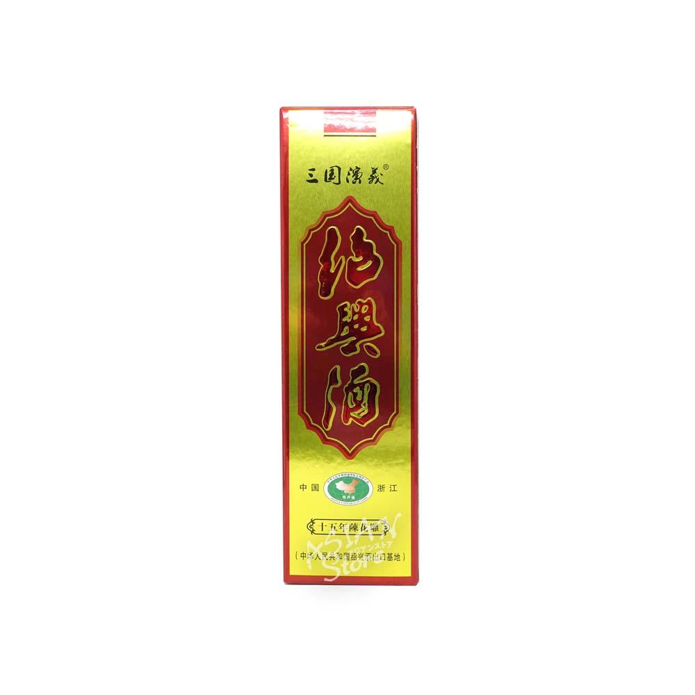 【常温便】【紹興酒】三国演義(趙雲)15年陳花彫600ml/15度