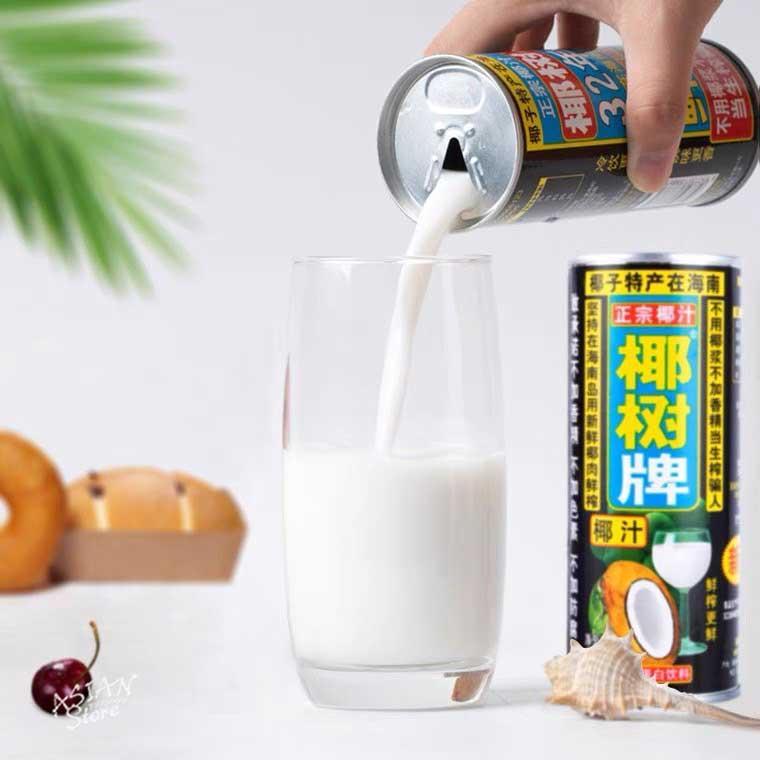 【常温便】ココナッツミルクジュース/正宗椰樹牌椰汁245ml