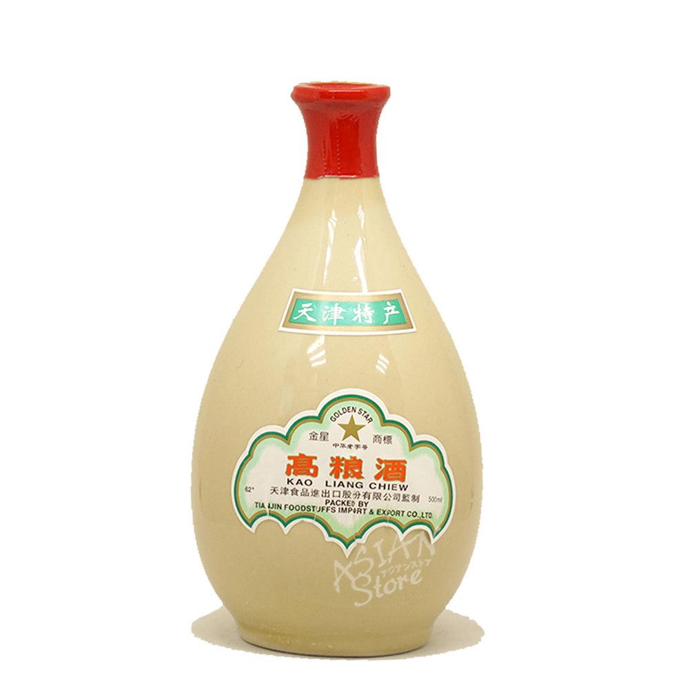 【常温便】【白酒】金星高粱酒(壺)500ml/62度