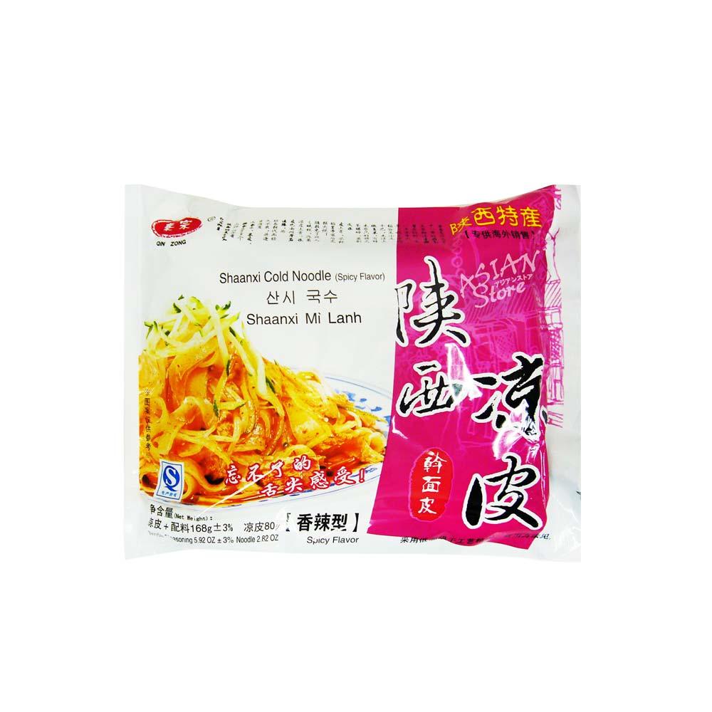 【常温便】シャンシーリャンピー シャンラー味168g/陝西涼皮 香辣味168g