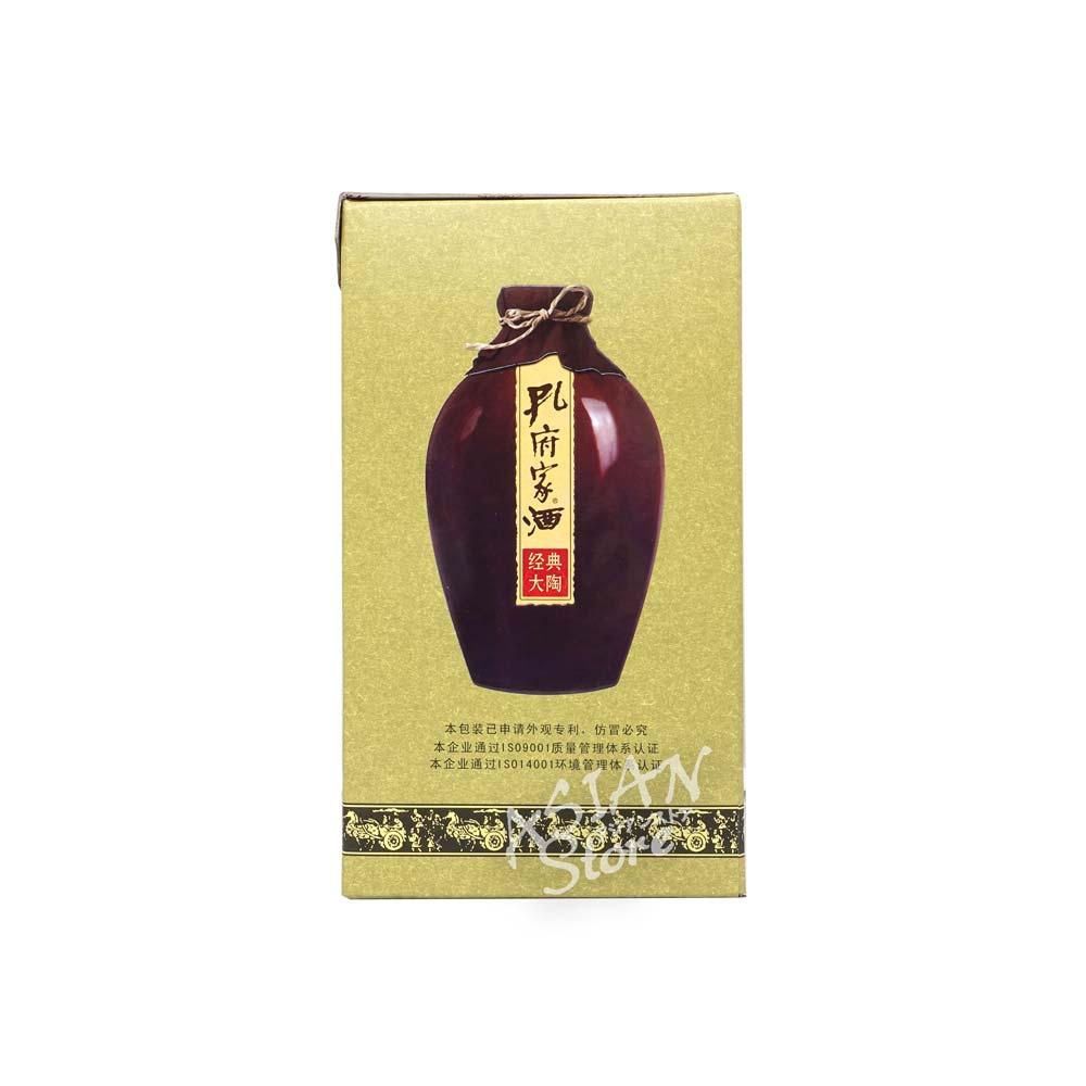 【常温便】【白酒】孔府家酒経典大陶38°500ml
