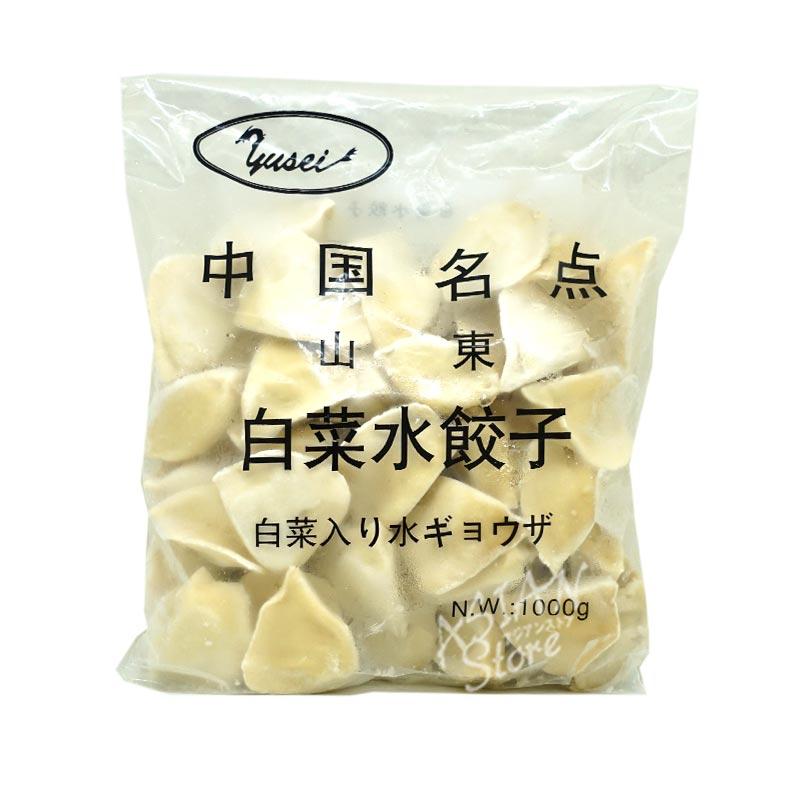 【冷凍便】中国名点山東白菜入り水餃子/中国名点山東白菜水餃1000g