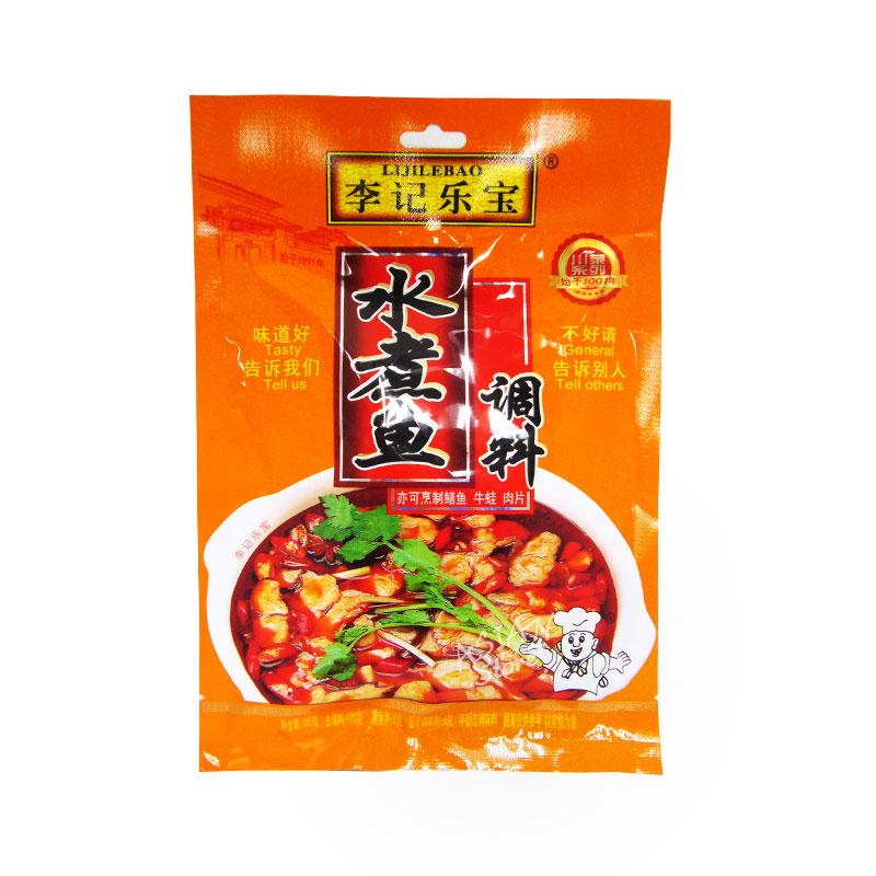 【常温便】李記楽宝中華水煮魚用調味料/李記楽宝水煮魚調料185g