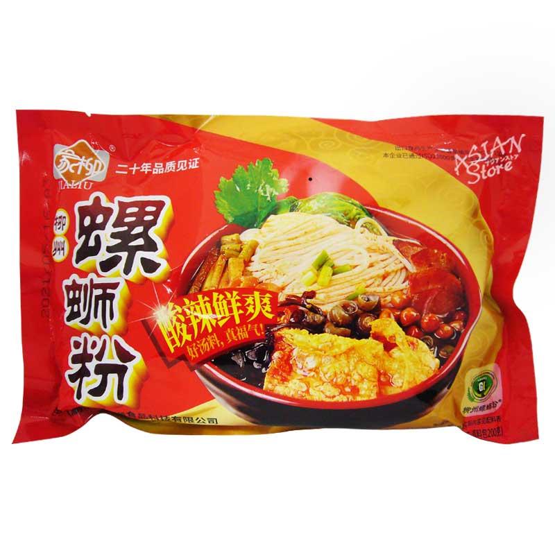 【常温便】JIALIU リュウジョウ ルオスーフェン タニシの汁ビーフン/家柳 柳州螺獅粉 350g