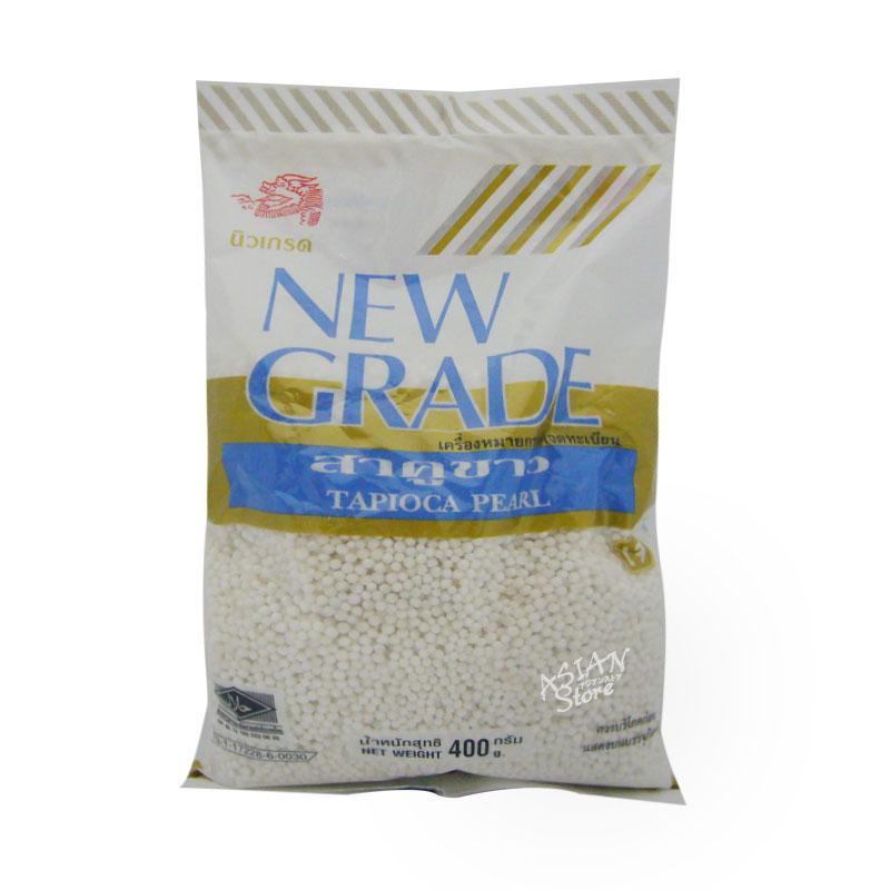 【常温便】ニューグレード タピオカ/泰国NEW GRADE白色小粉園 400g