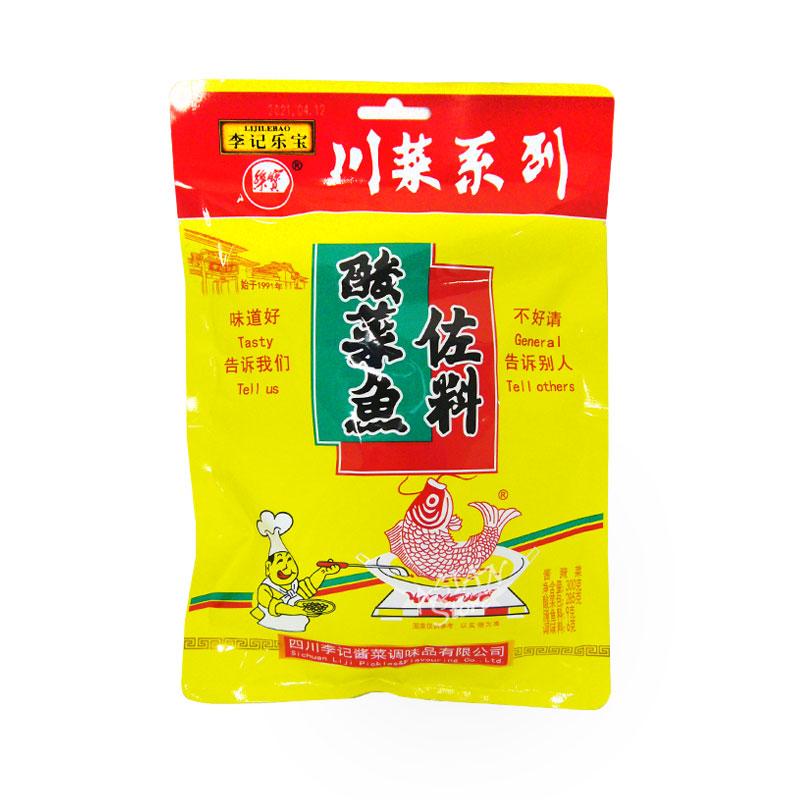 【常温便】李記楽宝酸菜魚調味料/李記楽宝酸菜魚左料300g