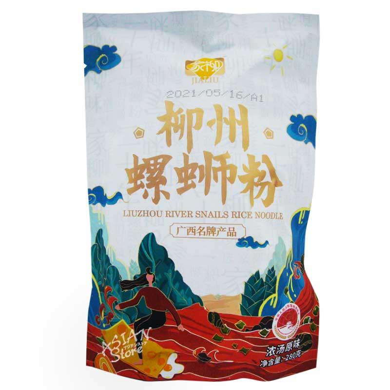 【常温便】JIALIU リュウジョウ ルオスーフェン/家柳 柳州螺獅粉(濃湯原味) 280g