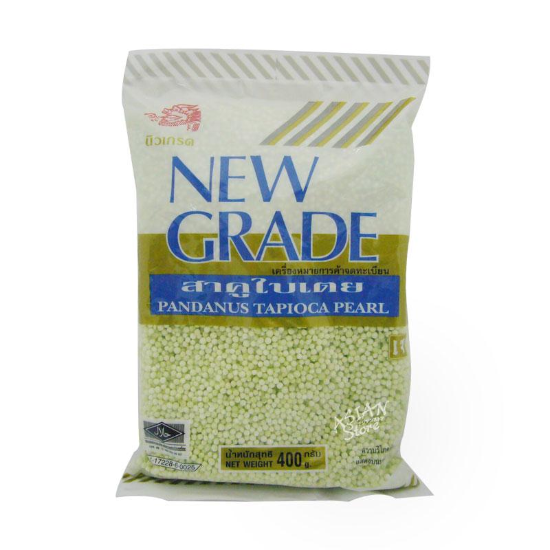 【常温便】ニューグレード グリーンタピオカ/泰国NEW GRADE緑色小粉園 400g