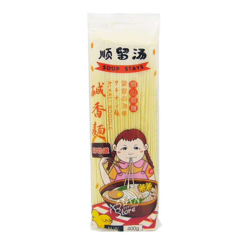 【常温便】クチナシ麺/順留湯鹹香面400g