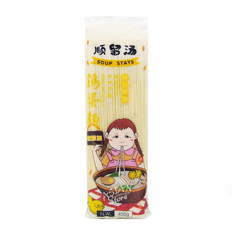 【常温便】タマゴ麺/順留湯鶏蛋面400g