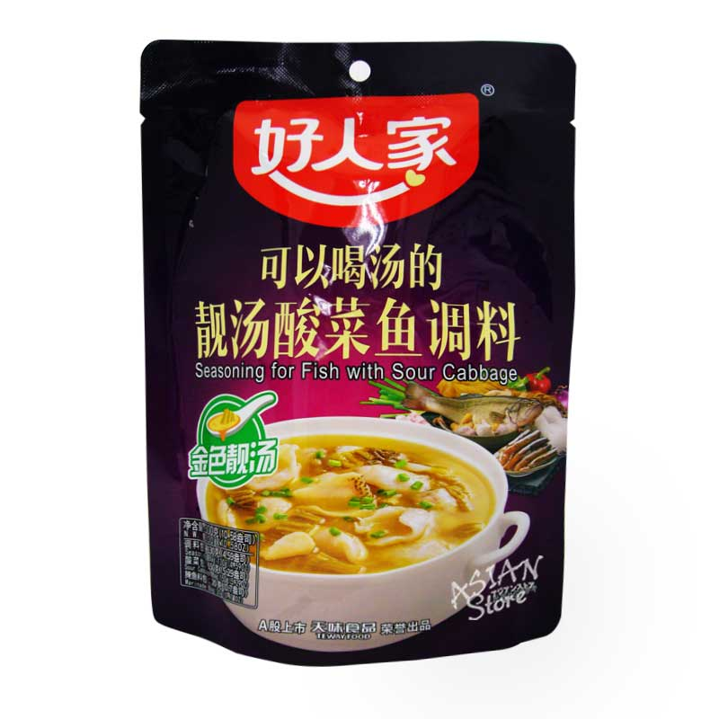 【常温便】好人家中華酸菜魚用調味料/好人家中華靚湯酸菜魚用調味料 300g