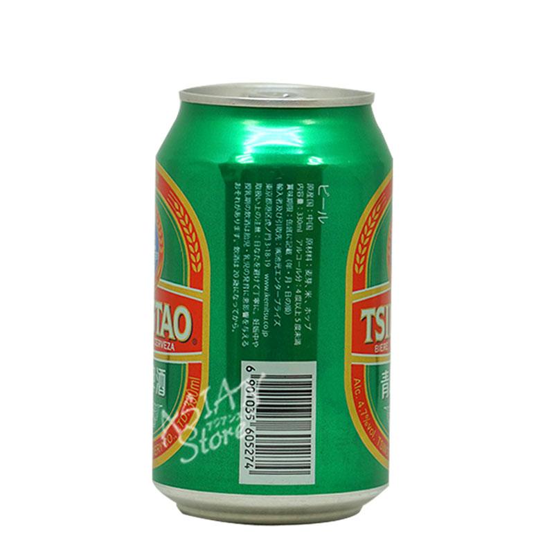 【常温便】【ビール】中国人気NO.1ビール チンタオビール/青島ビール330ml缶