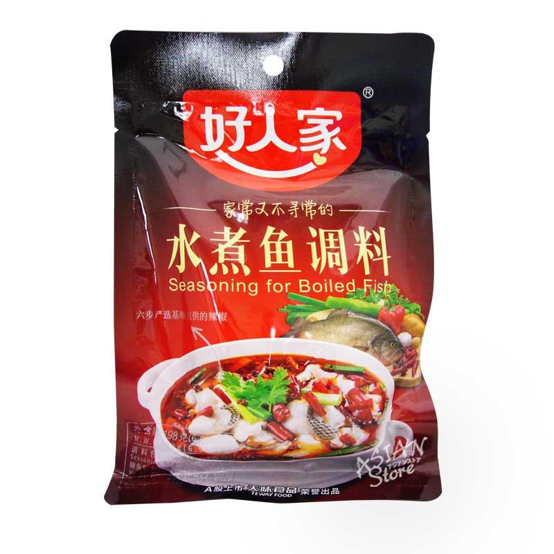 【常温便】好人家中華水煮魚用調味料 198g