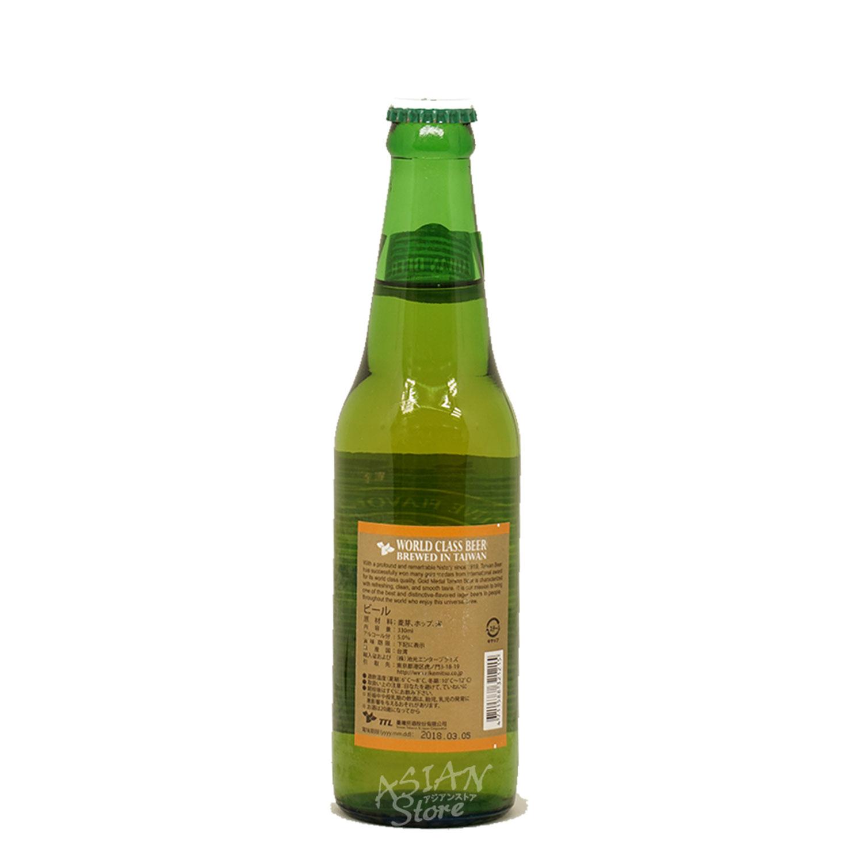 【常温便】【ビール】金牌台湾ビール330ml(瓶)5度