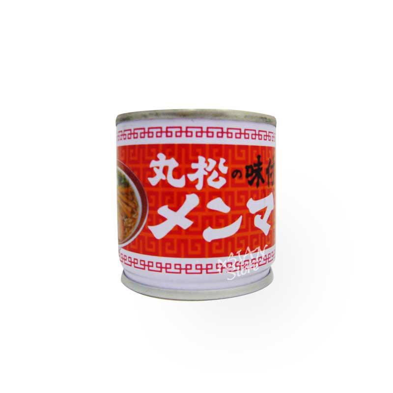 【常温便】丸松の味付メンマ(缶詰)/ 丸松筍乾罐頭 80g