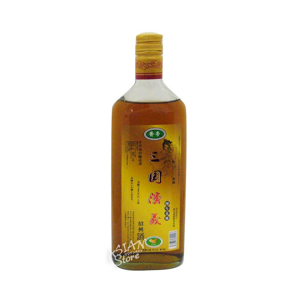 【常温便】【紹興酒】三国演義(貂蝉)陳年花雕酒480ml
