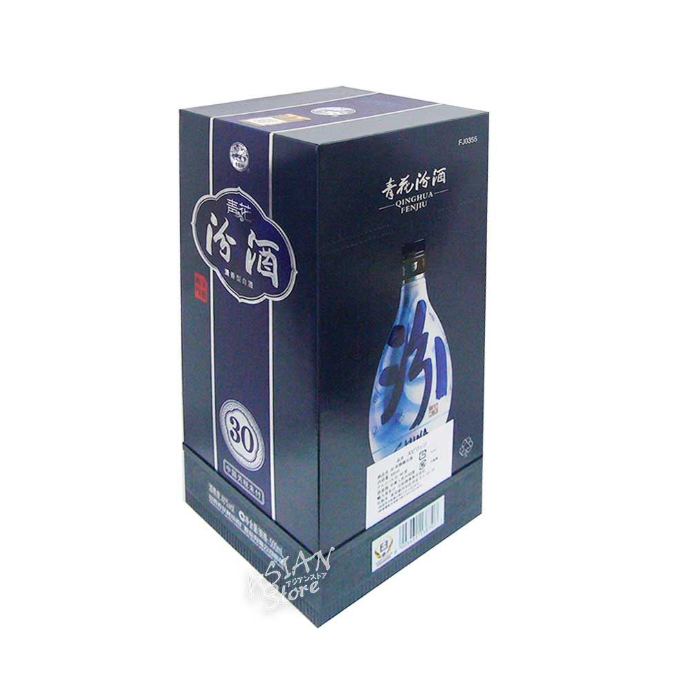 【常温便】【白酒】杏花村 青花汾酒 30年陳醸(清香型白酒)500ml/48度