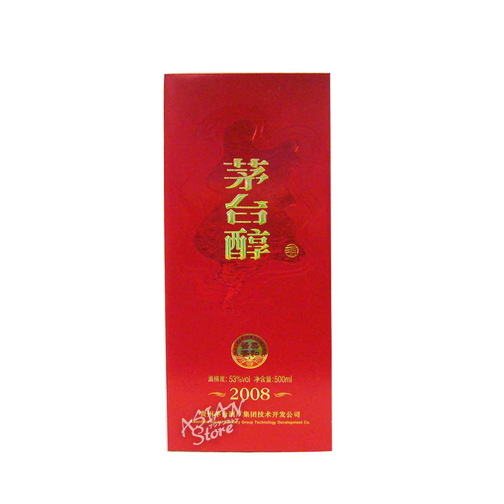 【常温便】【白酒】茅台醇(マオタイジュン)2008年 53度 500ml