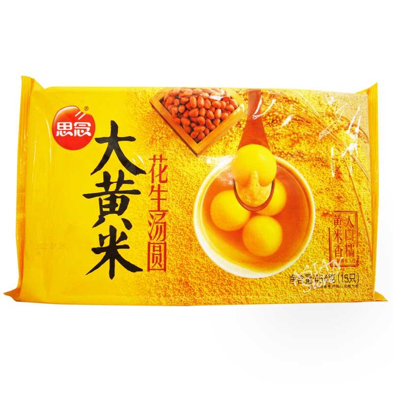 【冷凍便】もちあわピーナッツタンエン/思念大黄米花生湯圓454g