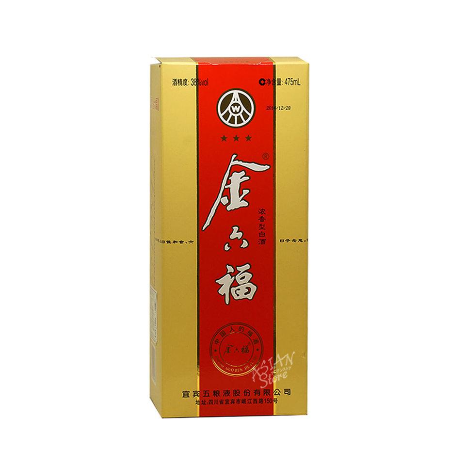 【常温便】【白酒】金六福38度475ml