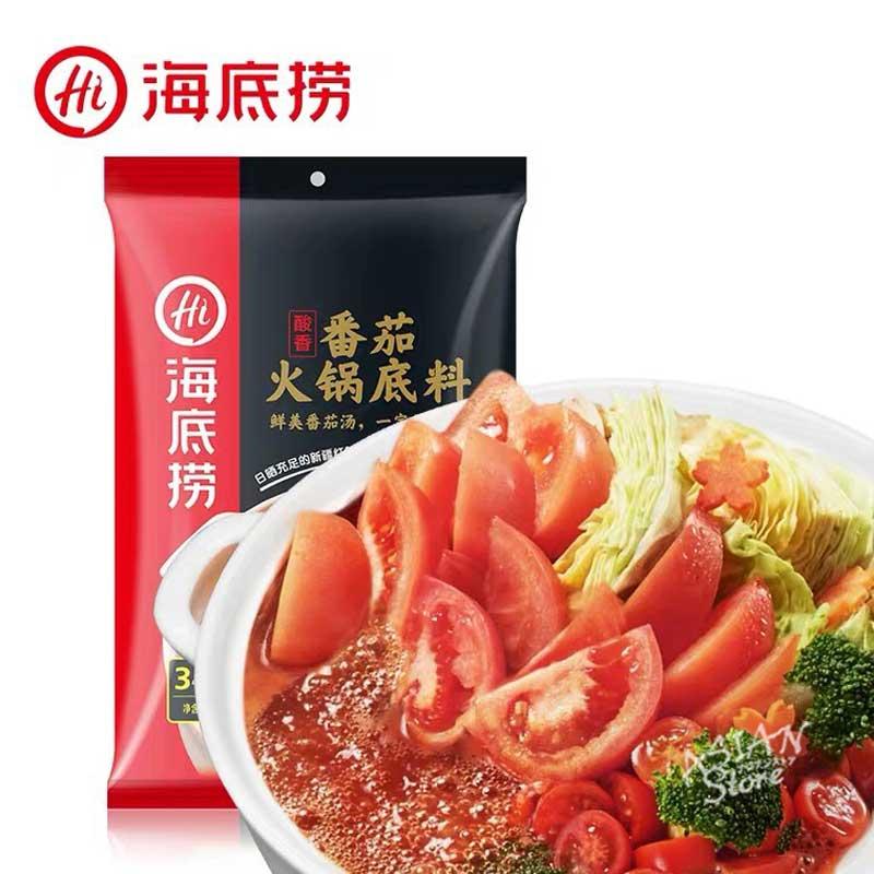【常温便】火鍋の素 トマト味/海底撈番茄火鍋底料200g