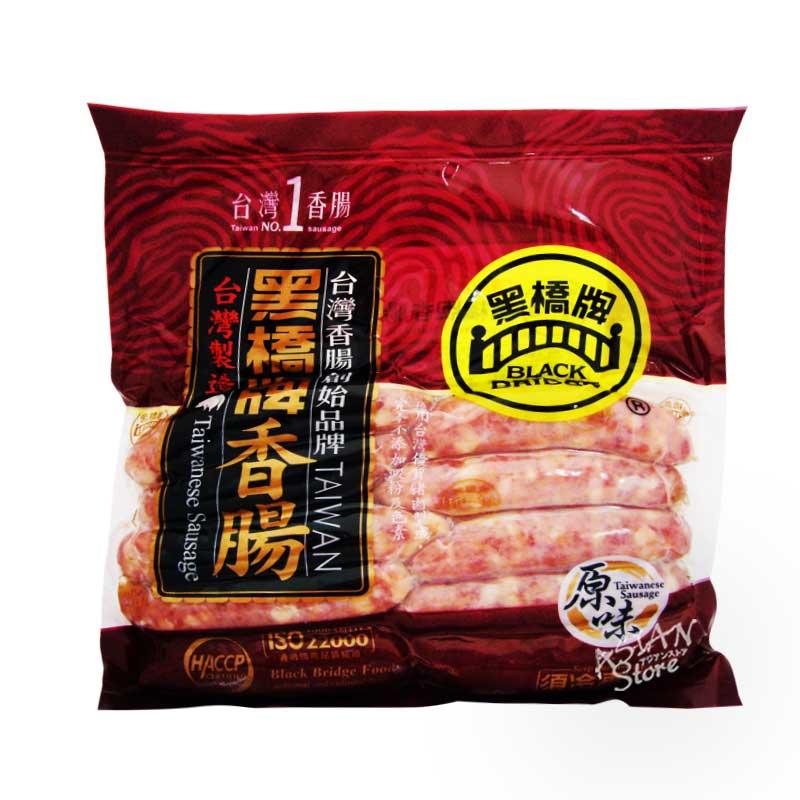 【冷凍便】台湾風味ポークソーセージ(フランクフルト)/黒橋牌原味香腸(10個入)500g
