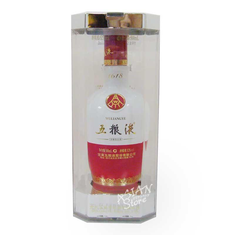 【常温便】【白酒】五糧液 (ゴリョウエキ) 1618年 52度 500ml / 五粮液