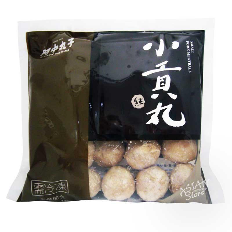 【冷凍便】ポークミートボール(小)/台湾阿中猪肉小貢丸300g