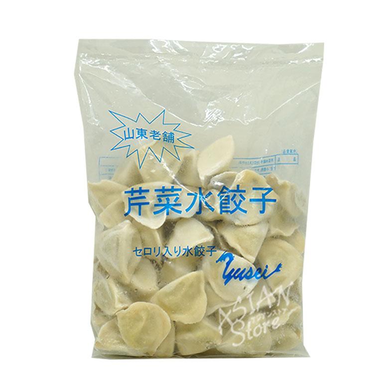 【冷凍便】セロリ入り水餃子/山東老舗芹菜餃子1000g