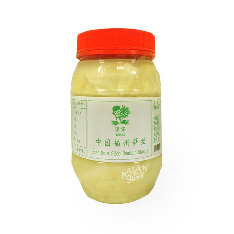 【常温便】発酵竹の子スライス/東永福州酸筍絲900g