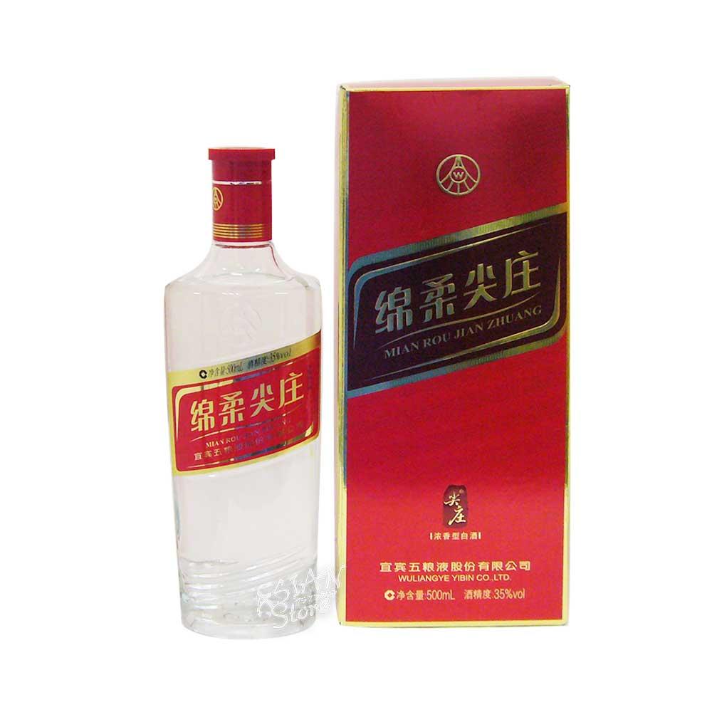 【常温便】【白酒】綿柔尖庄 (メンロージェンジョン) 35度 500ml