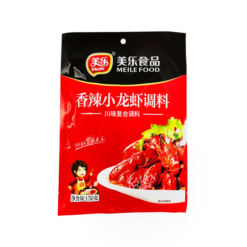 【常温便】ザリガニ調味料/美楽香辣小龍蝦調料150g