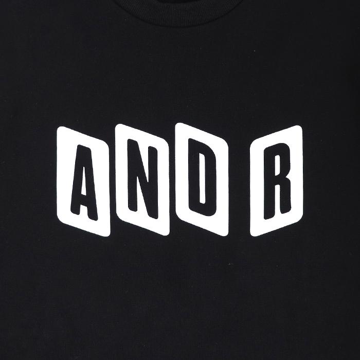 andR:20AW Zigzagプリント サイドジップ プルオーバー 【受注生産】
