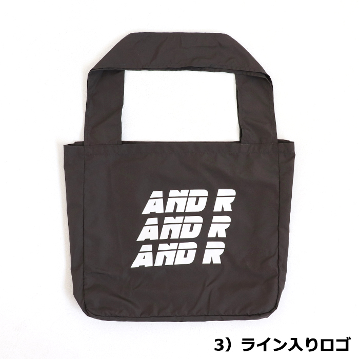 andR:20AW マルシェエコバッグ 【受注生産】
