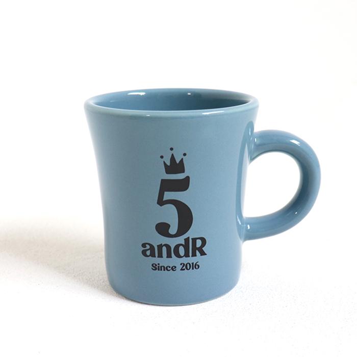 andR;21SS 5th Anniversary ロゴ入り マグカップ 【数量限定】