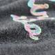 チェーン刺繍 Cネック カーディガン