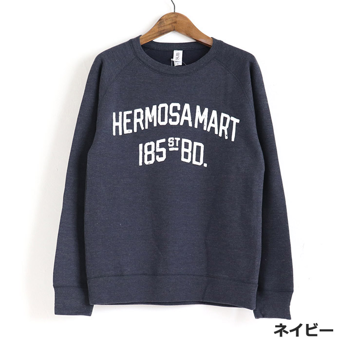 【お買得】HERMOSA MART プリント 裏起毛 プルオーバー