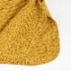 鹿の子編み サイドスリット ニット ベスト