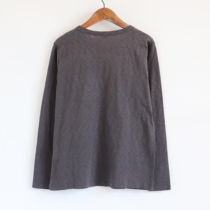 No.5ラインストーン Vネック 長袖Tシャツ