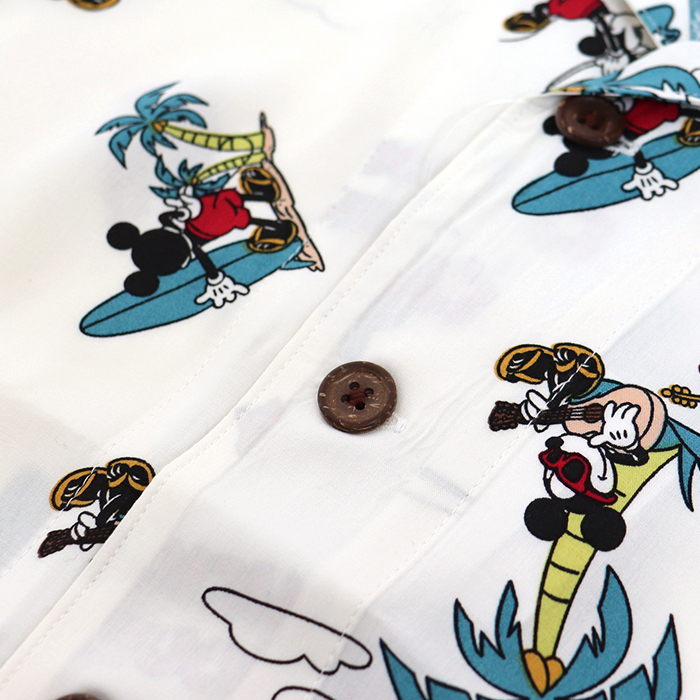 ミッキー総柄 アロハシャツ